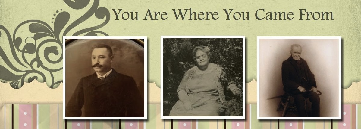 You Are Where You Came From